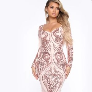 Fashion Nova formal dress